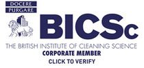British institute of cleaning science corporate member logo