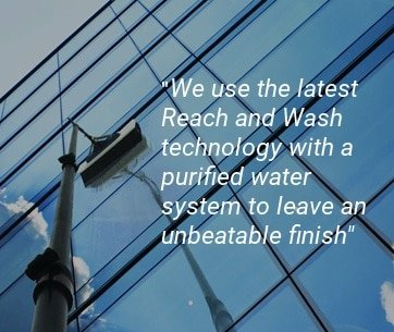 Reach and Wash on solar panels