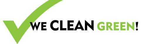We Clean Green logo